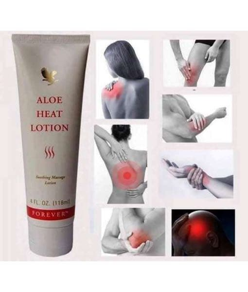 Aloe heat lotion (tube)